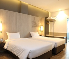 Comfortable rooms Miracle Suvarnabhumi Airport Hotel